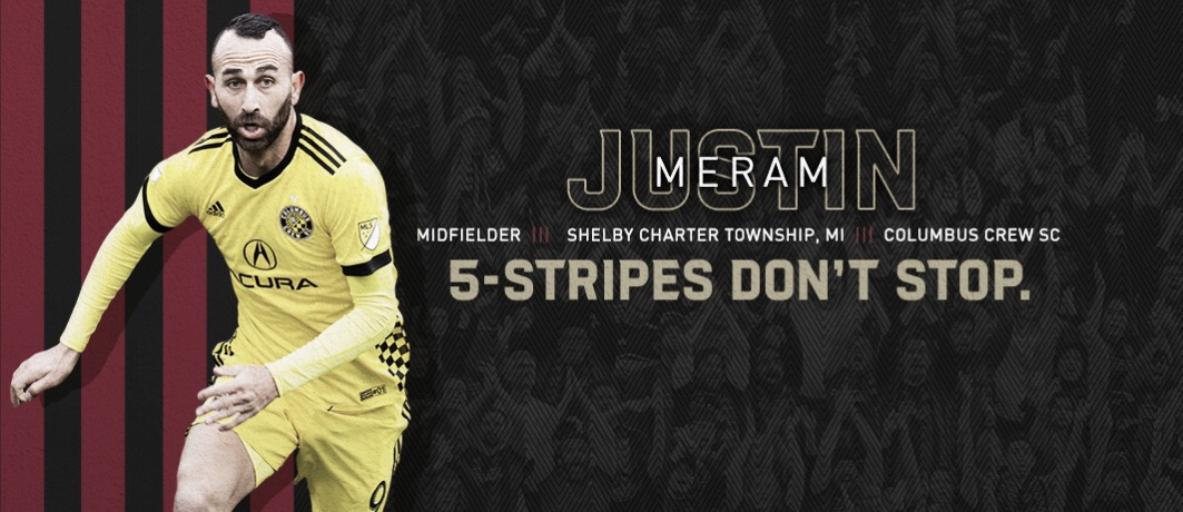 Justin Meram firma con Atlanta United FC