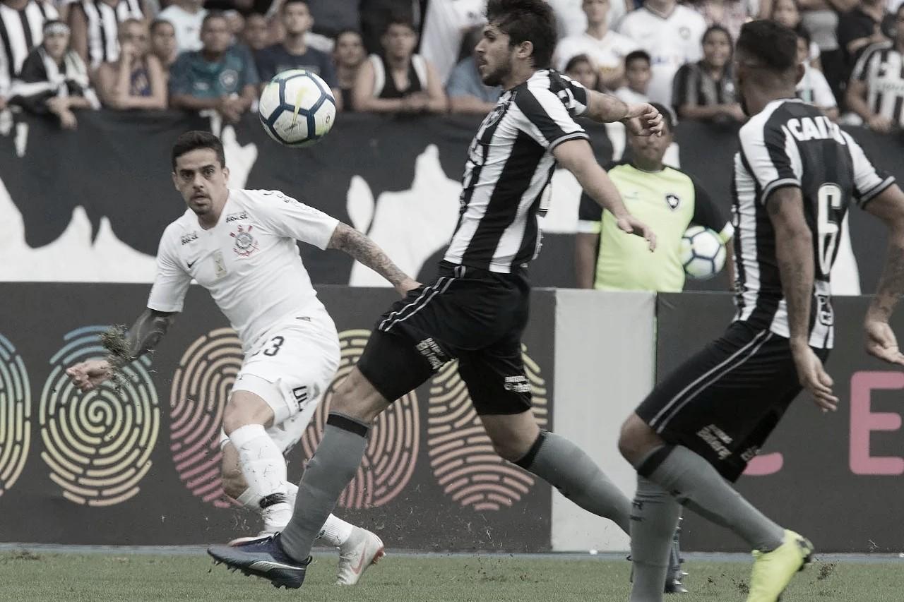 Resultado e Gols Corinthians x Botafogo pelo Campeonato Brasileiro