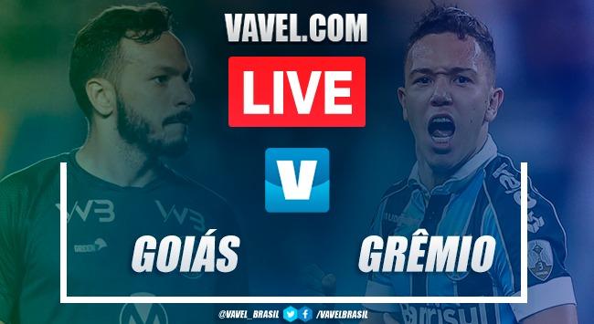 Resultado e gols Goiás 3 x Grêmio 2