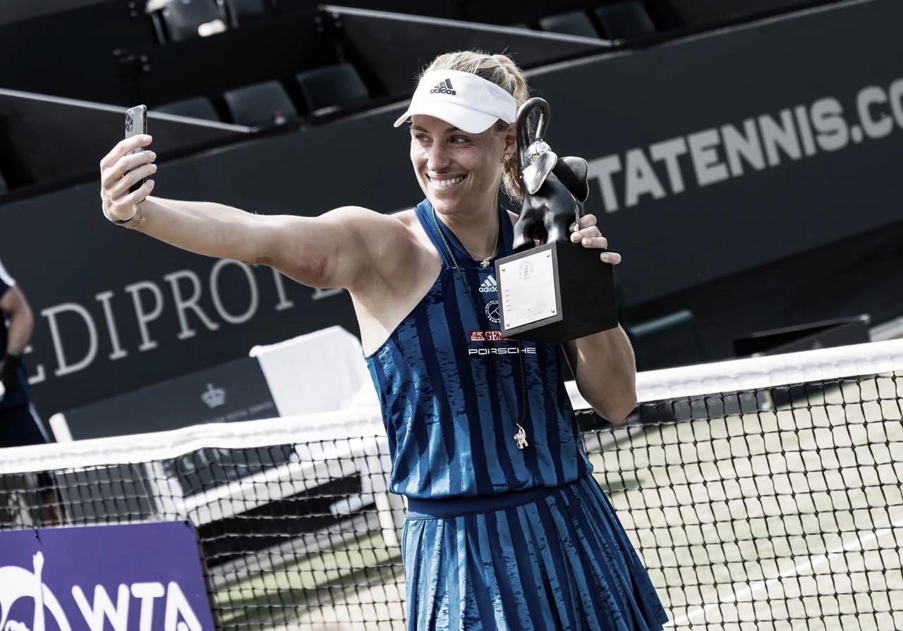 Kerber bate Siniakova na final em Bad Homburg e conquista primeiro título em três anos