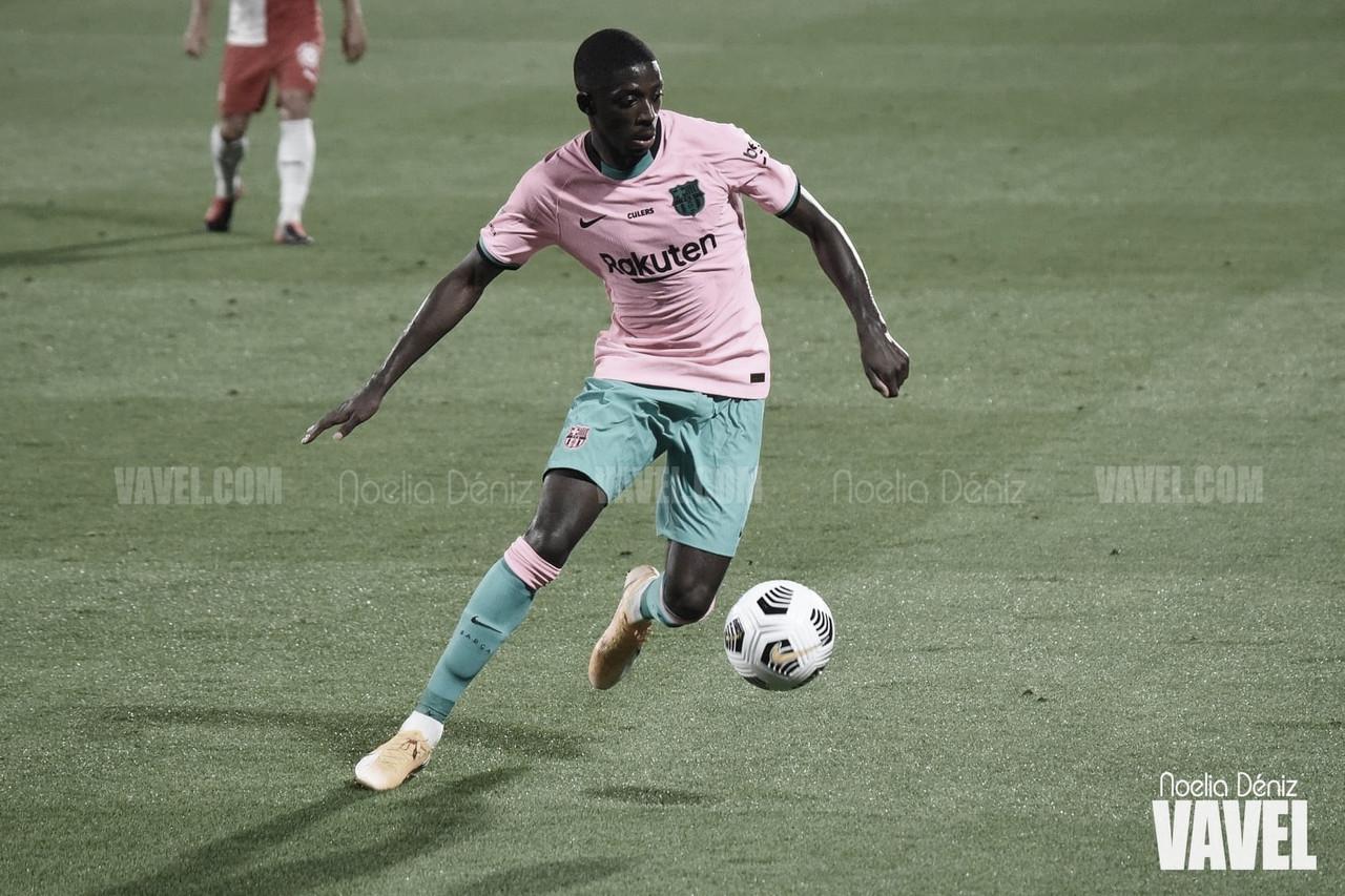 Dembélé, nuevo 'KO' para el Barcelona