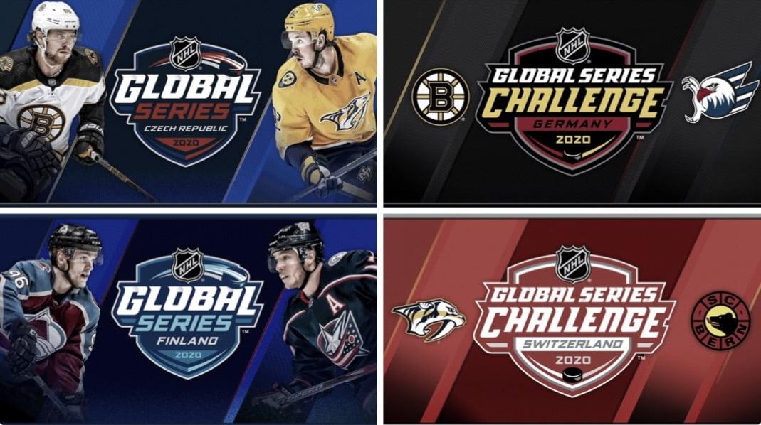 La NHL anuncia sus partidos en Europa para 2020