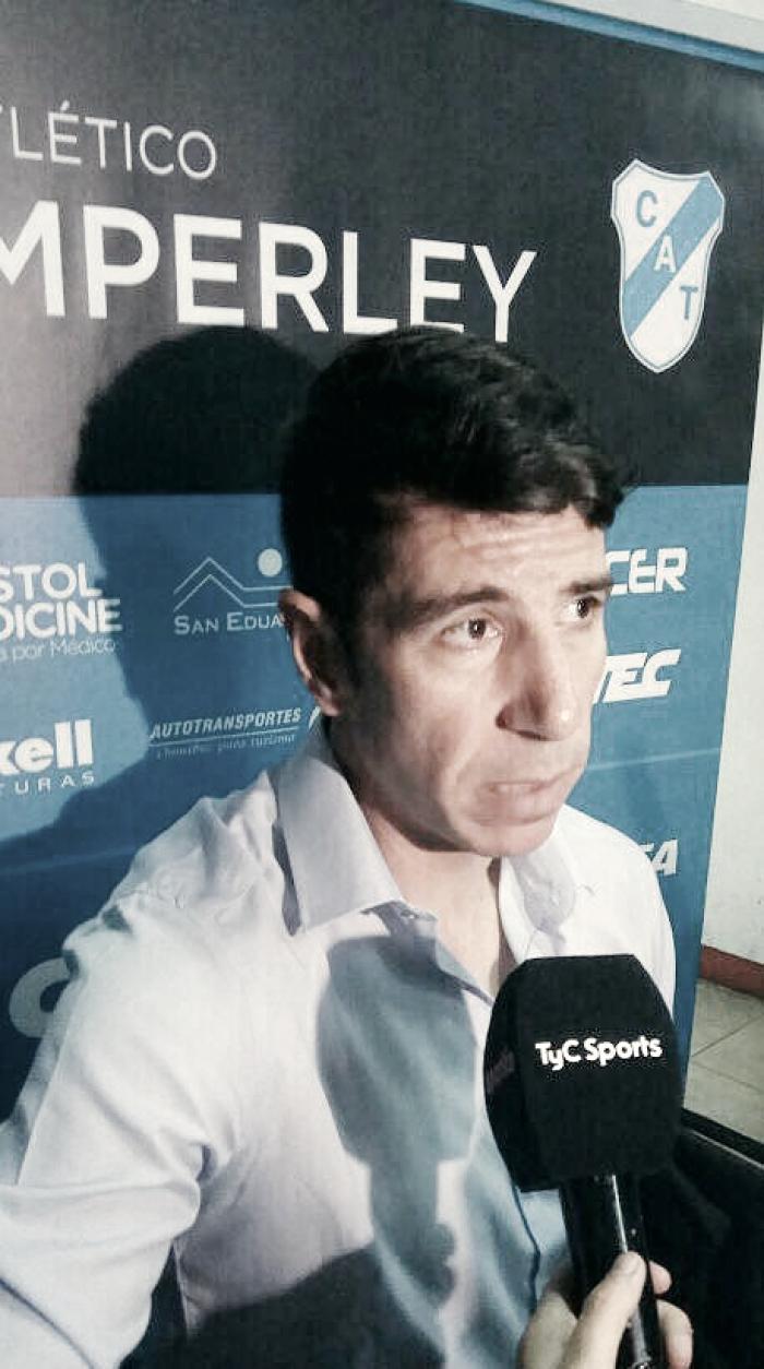 """Gastón Esmerado: """"Todos los recursos que un entrenador quisiera"""""""