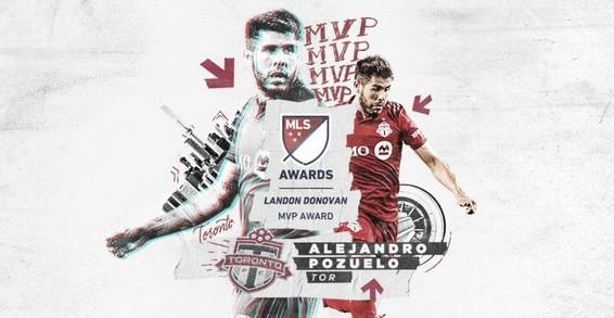 Alejandro Pozuelo, Landon Donovan MLS MVP 2020