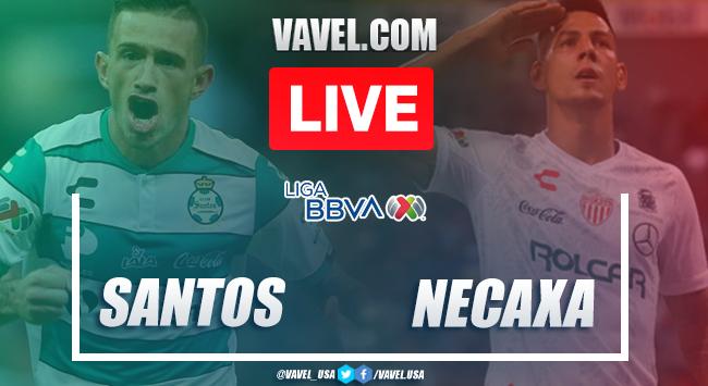Goals and Highlights: Santos 2-1 Necaxa, 2020 Liga MX