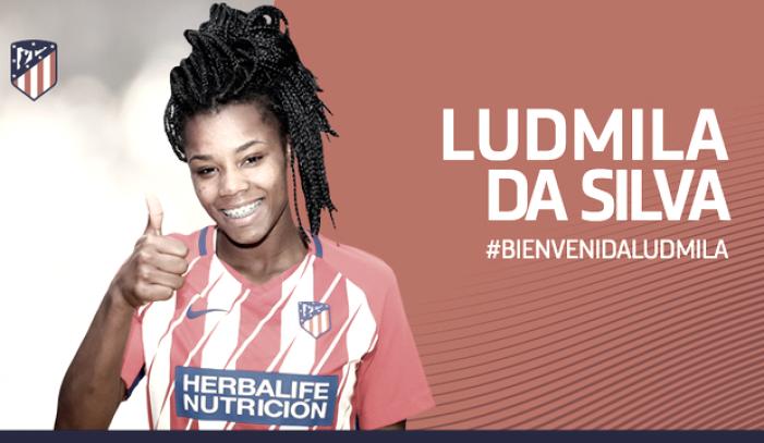 Ludmila Da Silva, última incorporación del Atlético de Madrid