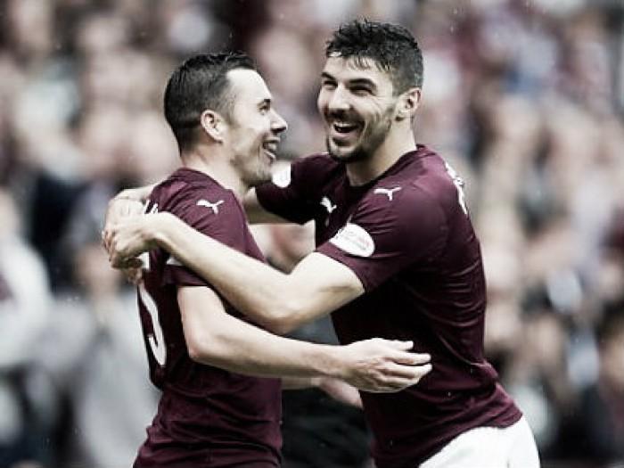 Hearts domina, goleia Inverness CT e deixa a zona de rebaixamento na SPL