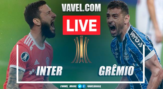 Inter x Grêmio AO VIVO: jogo em tempo real pela Libertadores