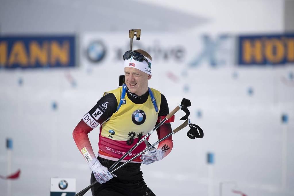 Johannes Boe s'impose sur le sprint de Oberhof.
