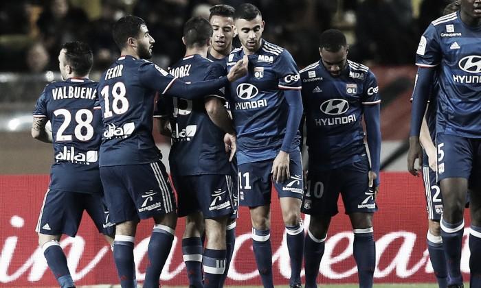 Ligue 1, trionfo Lione al Louis II: Ghezzal, Valbuena e Lacazette condannano il Monaco (1-3)