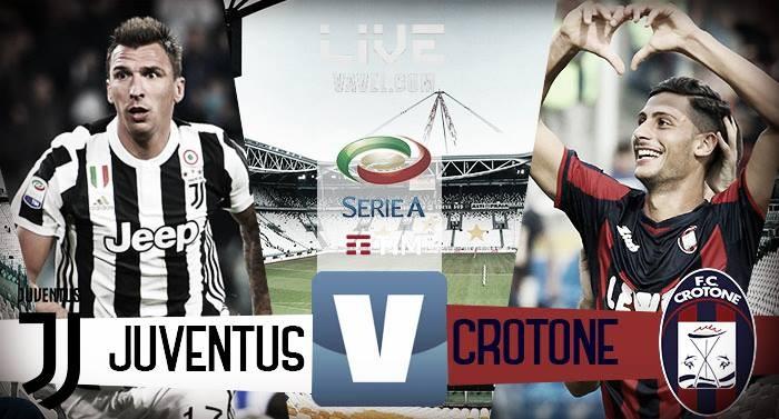 Serie A, la Juventus fatica per un tempo poi travolge il Crotone