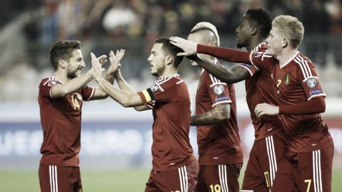 Euro 2016: Wilmots ufficializza i 23 del Belgio. Problemi in difesa, ci sono Mertens e Nainggolan