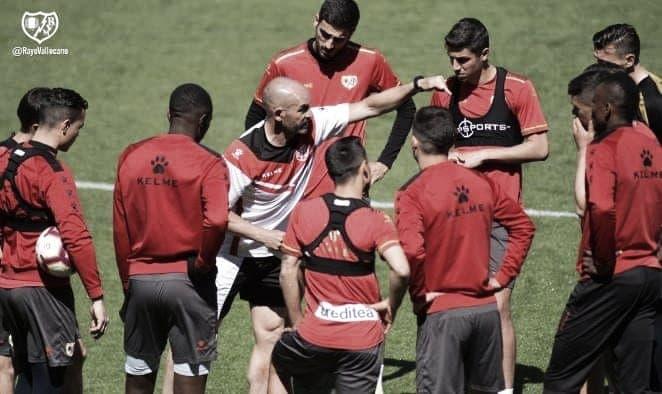 Última sesión y lista de convocados para el Rayo – Valencia