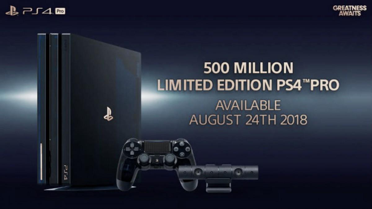 PlayStation celebra su éxito con una consola de edición especial