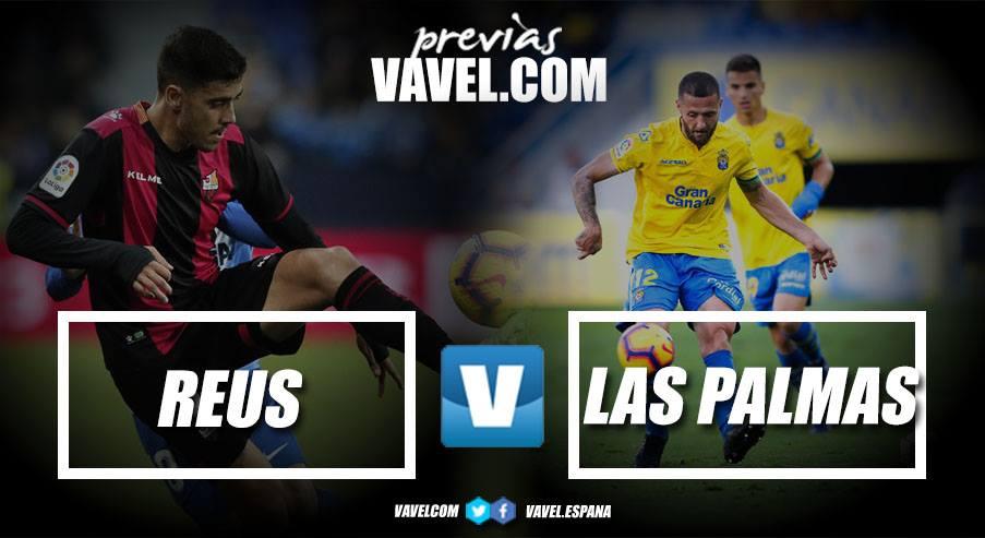 Previa CF Reus - Las Palmas: Competir en una situación extrema