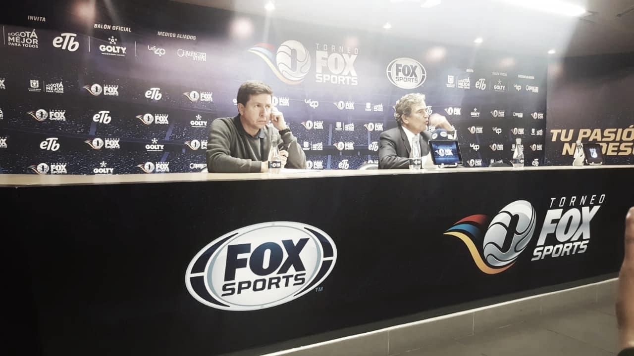 Reacciones de Jorge Luis Pinto tras la victoria ante Nacional en el Torneo Fox