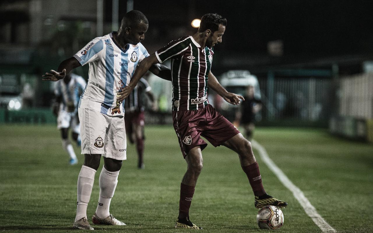 Fluminense joga mal, mas empata com Macaé e avança às semis da Taça Rio