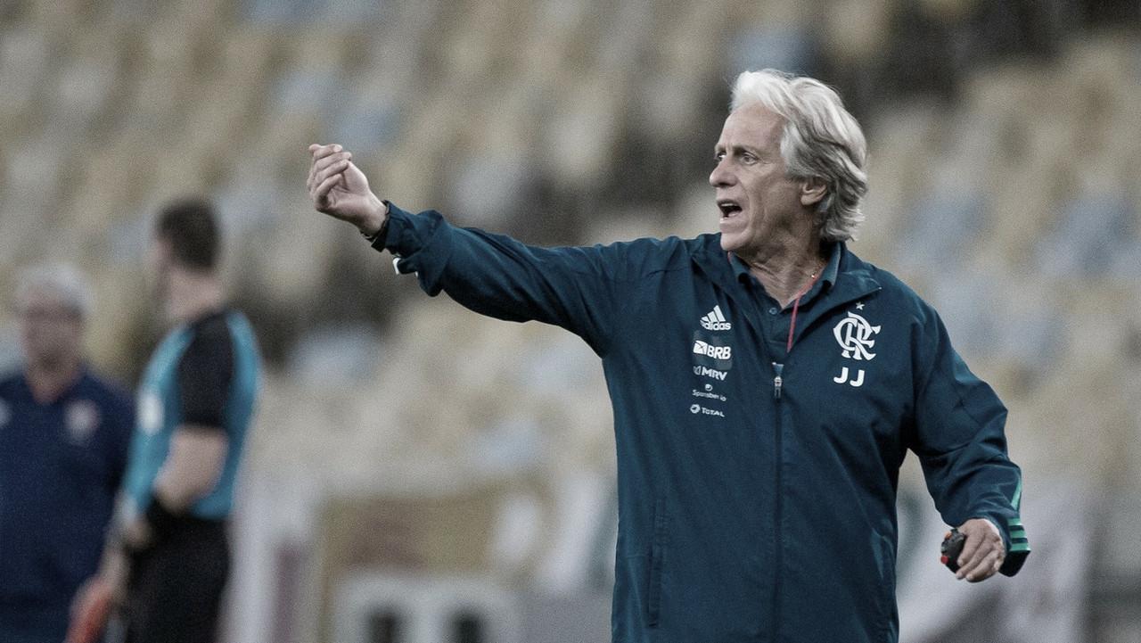 Jorge Jesus se conforma com derrota e admite que Fluminense 'teve competência'