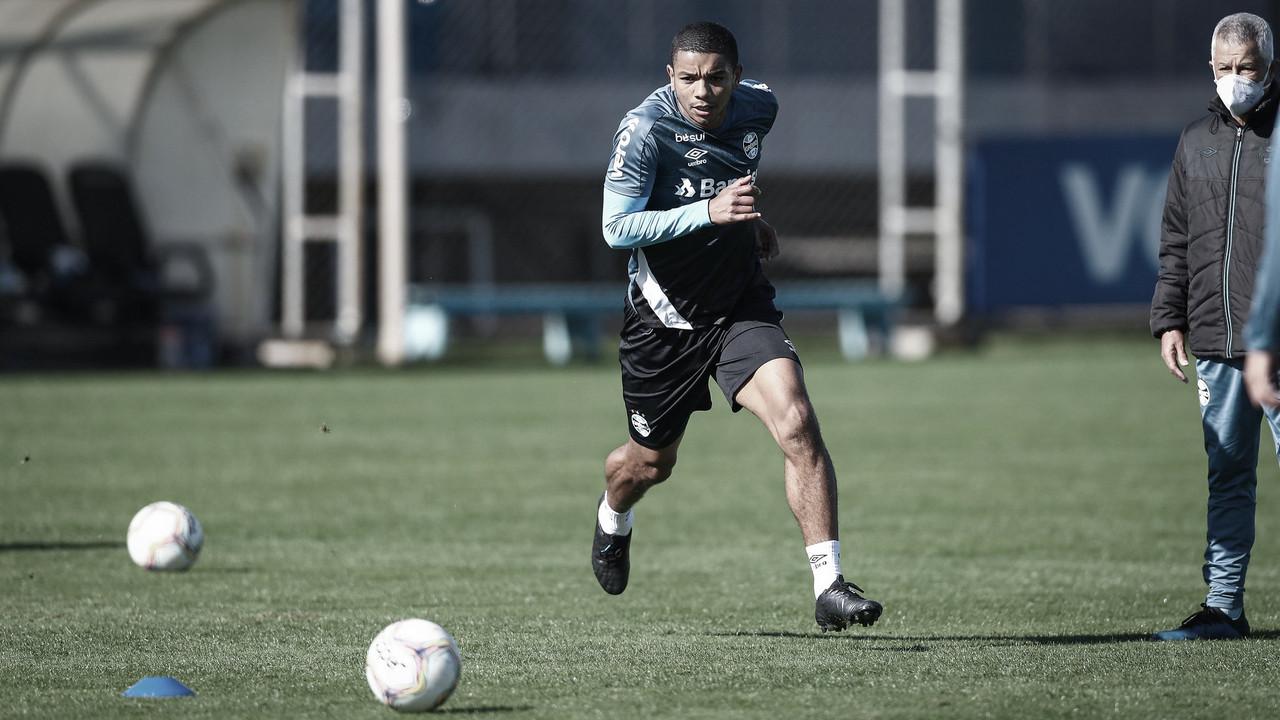 Grêmio encerra última semana de atividades isoladas antes de treinos táticos e técnicos