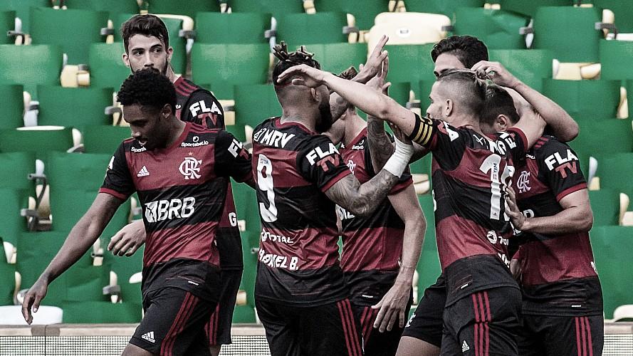 """Jorge Jesus exalta atuação do Flamengo: """"Fomos mais equipe e merecemos vencer"""""""