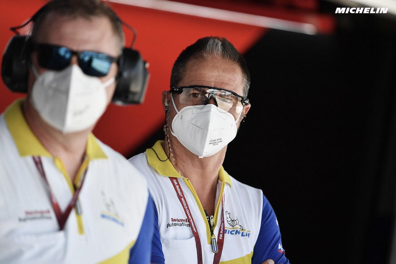 Michelin apuesta por el asimétrico trasero en Aragón