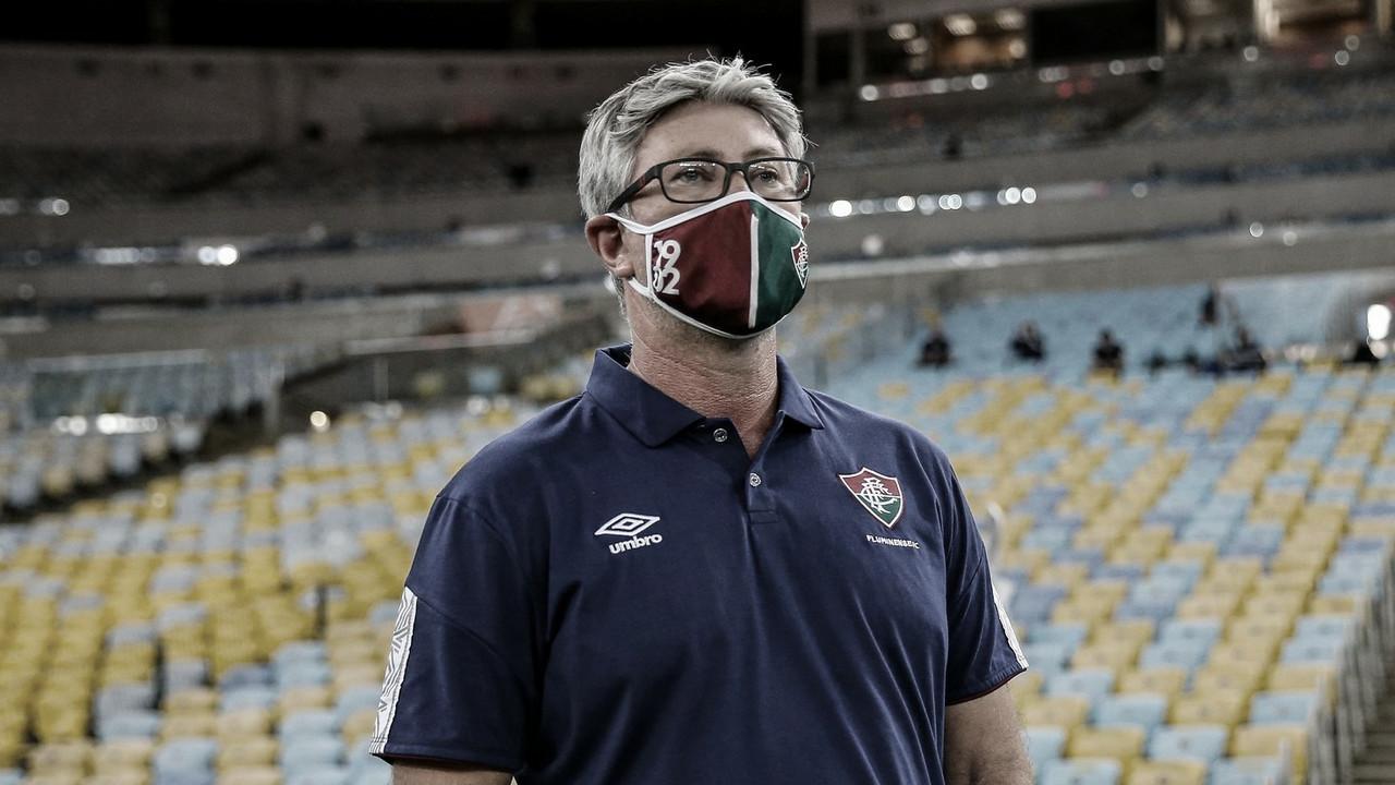 Odair Hellmann frisa que Fluminense foi 'melhor também em muitos momentos'