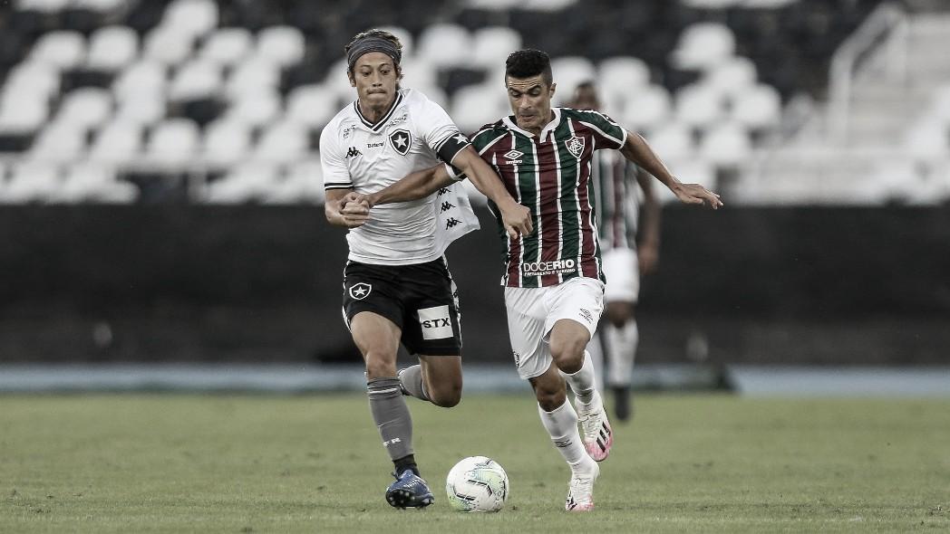Gols e melhores momentos de Botafogo x Fluminense pelo segundo amistoso da Taça Gérson e Didi (1-1)