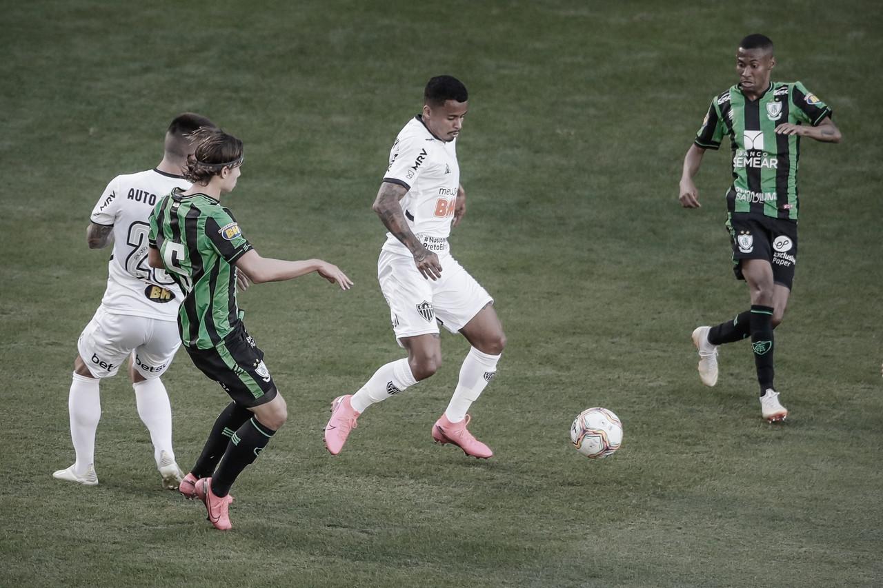 Atlético-MG sai na frente, mas América-MG busca empate na volta do Campeonato Mineiro