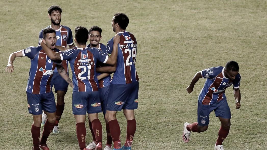 Bahia vence Confiança e avança à final da Copa do Nordeste pela oitava vez