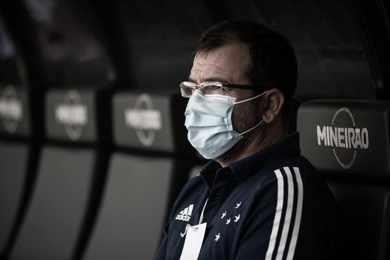 """Na final do Troféu Inconfidência, Enderson Moreira mira Série B: """"Mais importante para o clube"""""""