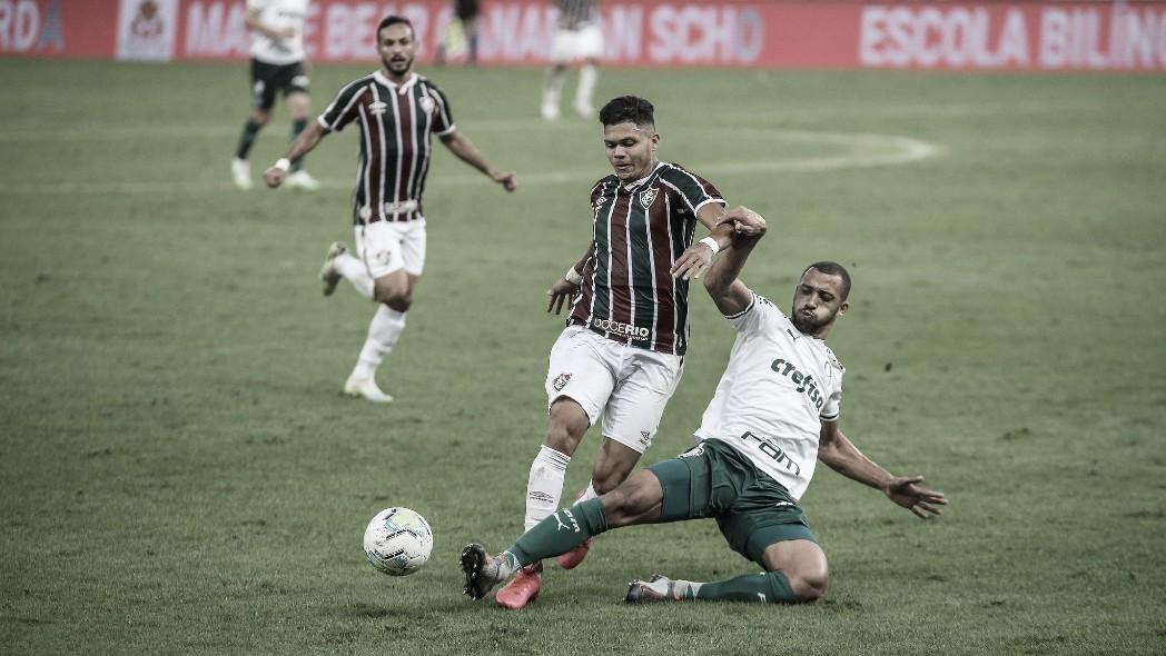 Fluminense e Palmeiras fazem jogo travado, e empate reina no Maracanã