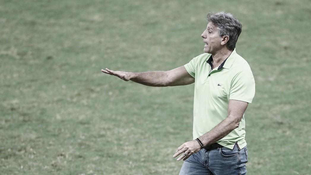Renato Gaúcho avalia que Grêmio teve 'altos e baixos' no empate com Ceará