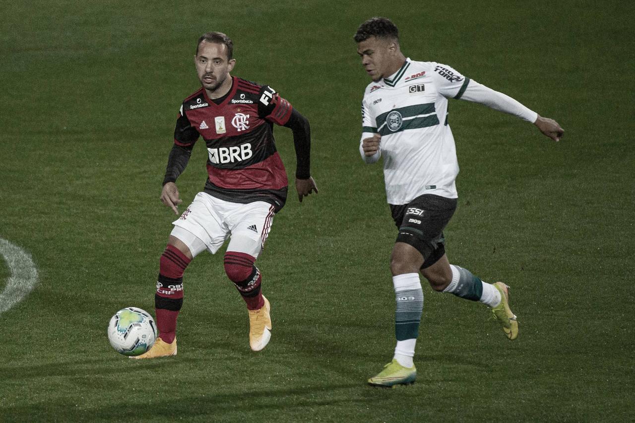 Gols e melhores momentos de Flamengo x Coritiba (3-1)