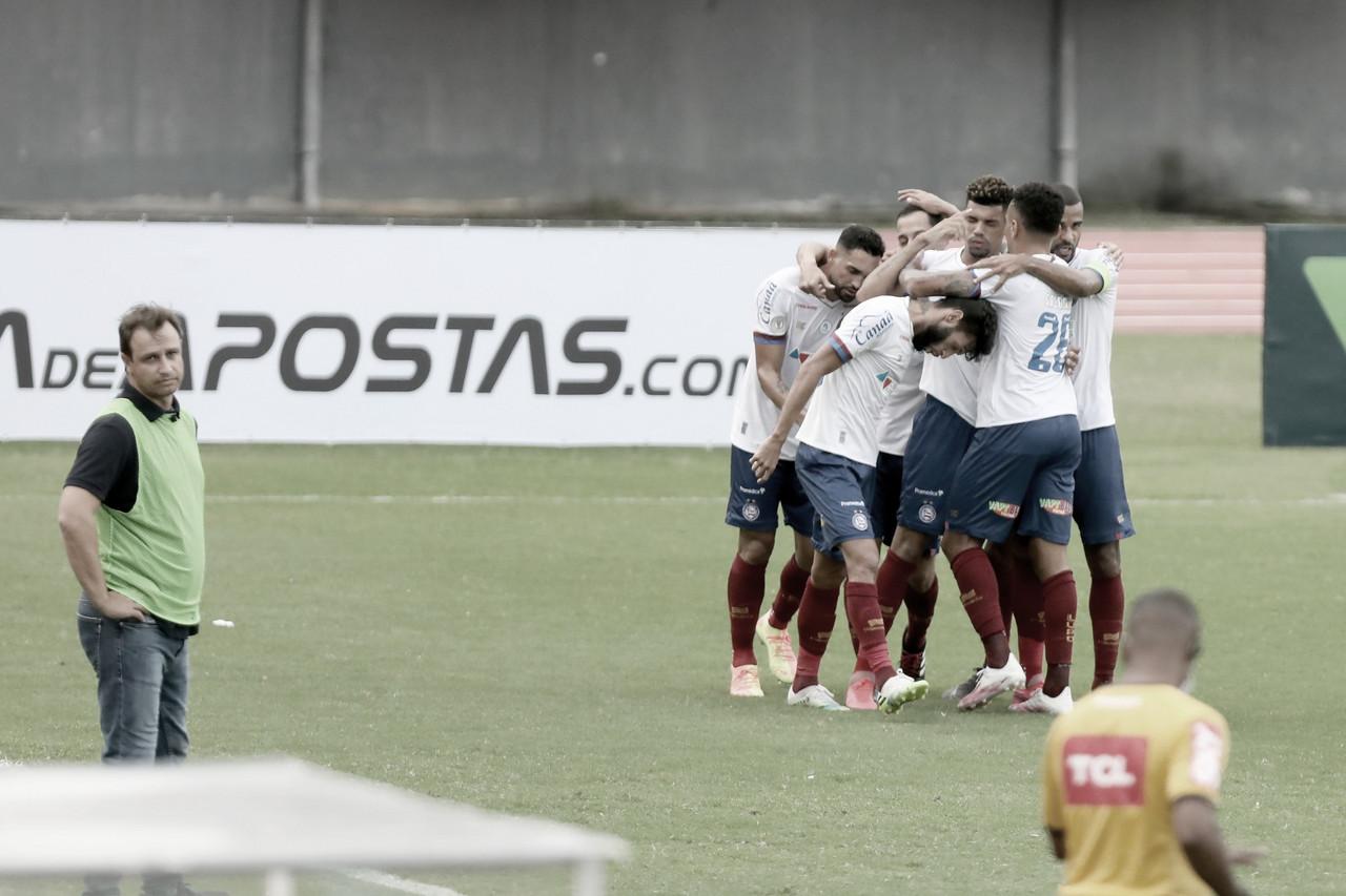 Em jogo dos zagueiros, reativo Bahia escancara inexperiência do Bragantino na Série A