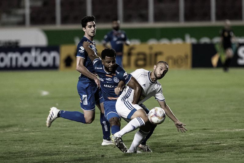 Confiança-SE e Cruzeiro, no 1° turno (Foto: Bruno Haddad/Cruzeiro)