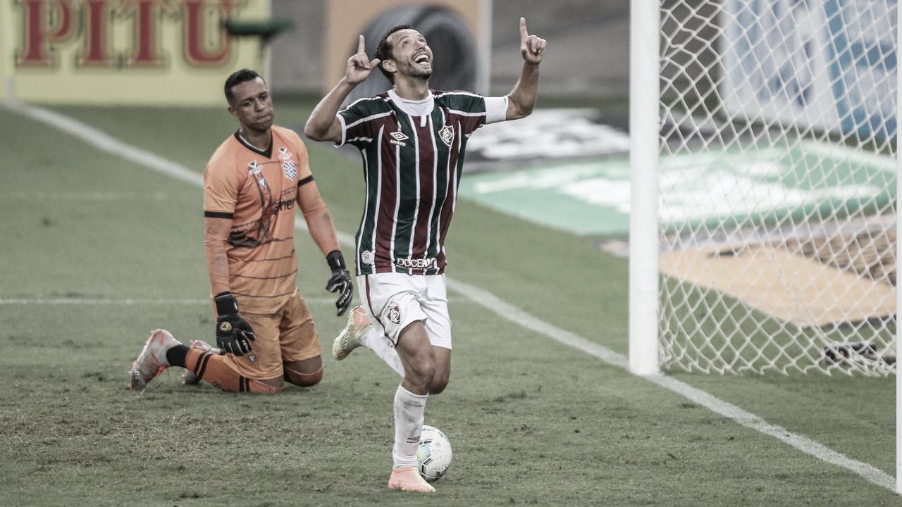 A individualidade como principal fator no avanço do Fluminense sobre o Figueirense