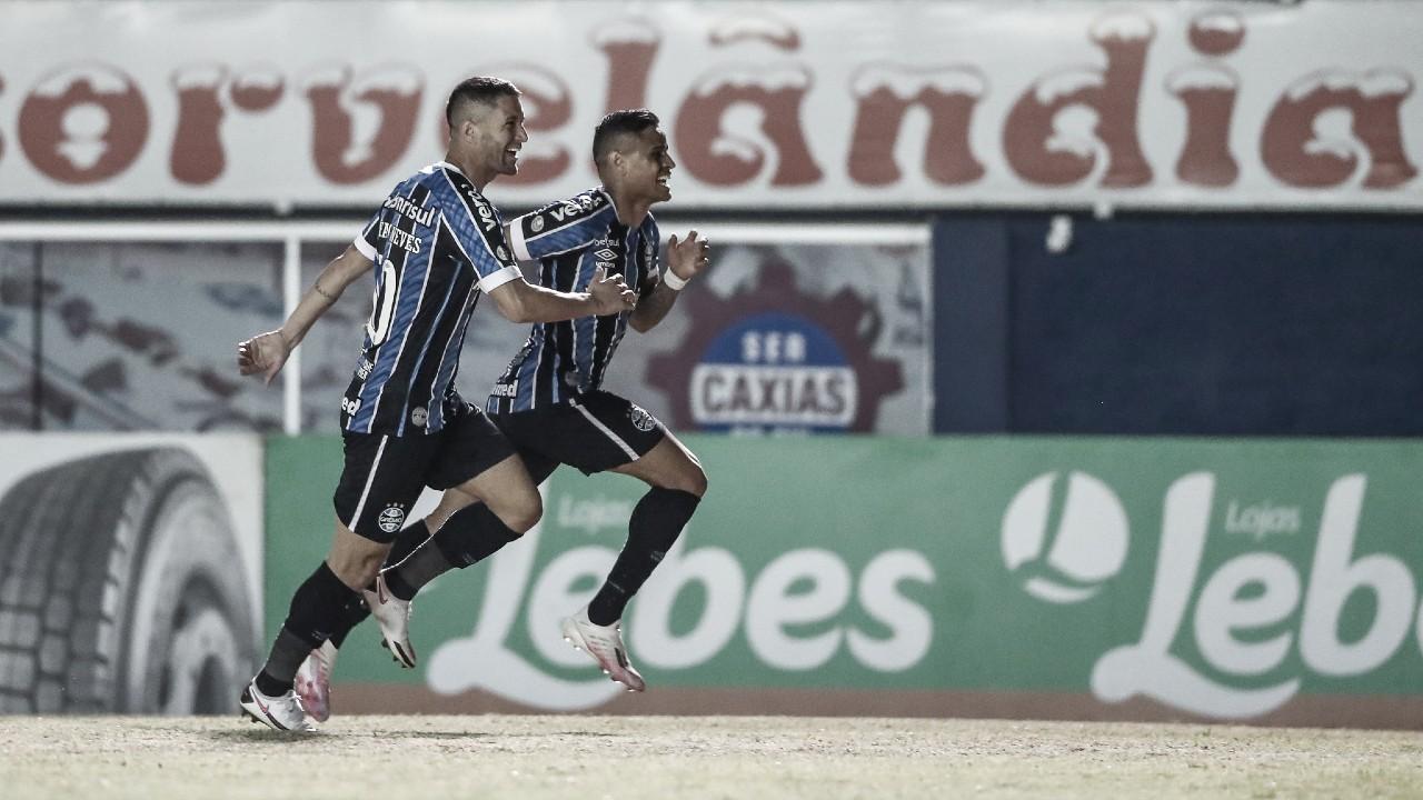 """Éverton comemora seu primeiro gol pelo Grêmio: """"Pessoal aqui acreditou em mim"""""""