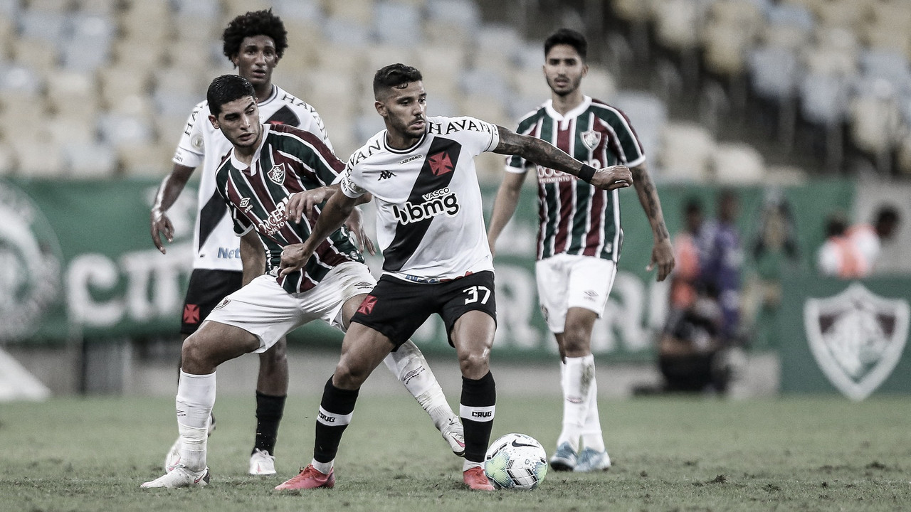 Em lados opostos na tabela, Vasco e Fluminense fazem clássico no RJ
