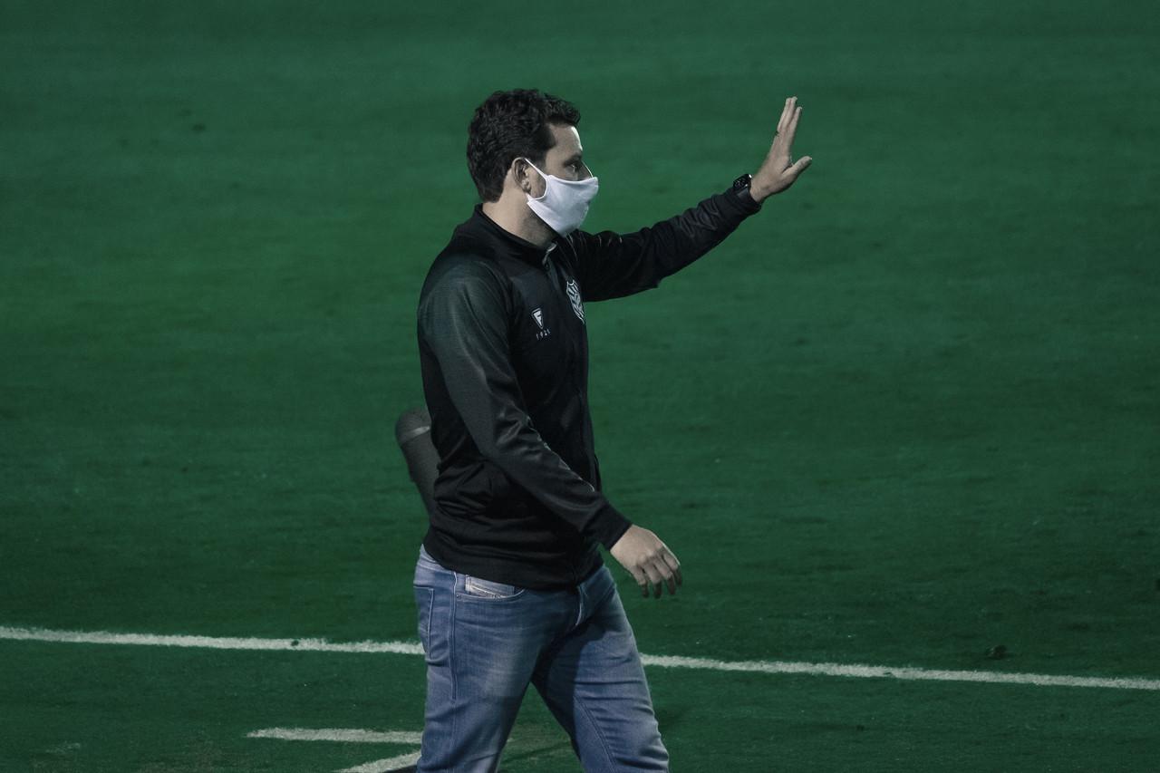 Apesar da derrota, Elano avalia como positiva partida do Figueirense contra Náutico