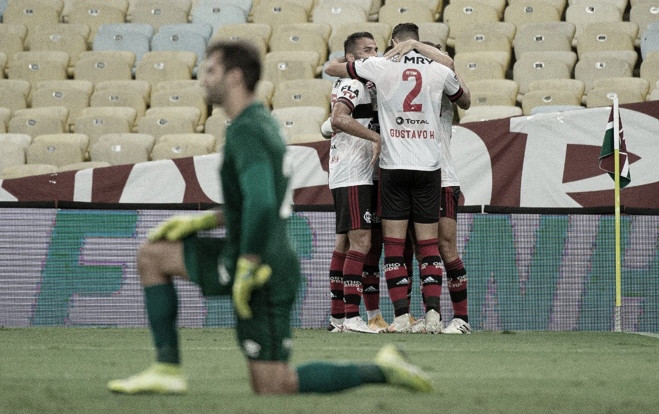 Flamengo aproveita qualidade superior e derrota Fluminense no Maracanã