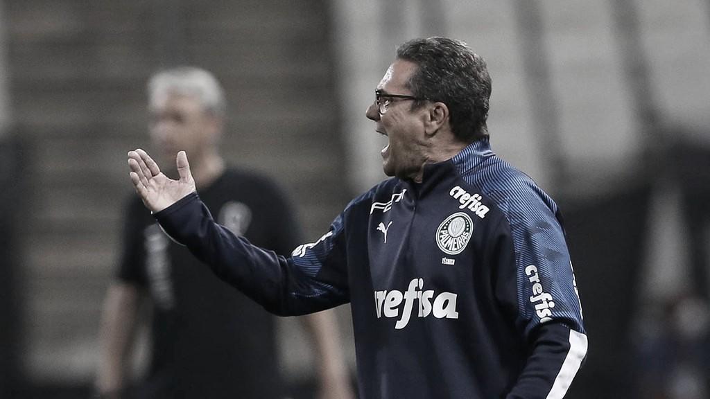 """Luxemburgo elogia garotos e postura do Palmeiras no clássico: """"Controlamos o jogo"""""""