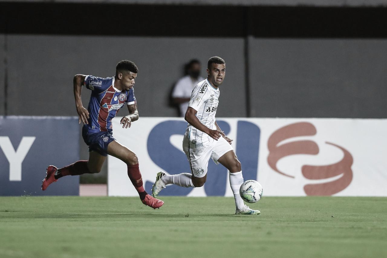 Na briga pela Libertadores, Grêmio recebe desesperado Bahia