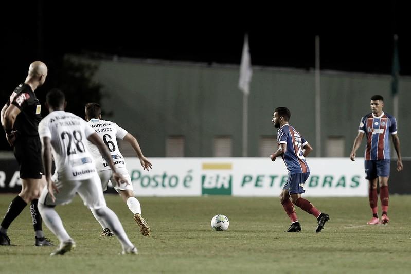 """Ernando cobra Bahia após derrota contra Grêmio: """"Tem que se impor mais"""""""