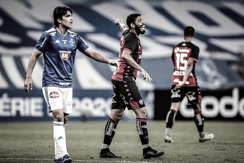 Cruzeiro e Vitória, 9ª rodada, no Mineirão (Foto: Pedro Vale/Vitória)
