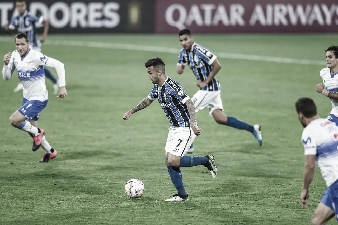 Grêmio tenta 'dar o troco' contra Universidad Católica e buscar vaga nas oitavas