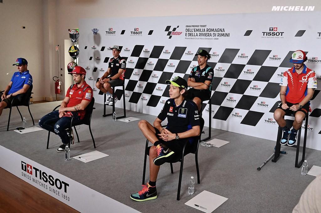 """Rueda de prensa GP Emilia Romagna 2020: """"El Mundial está loco y equilibrado"""""""