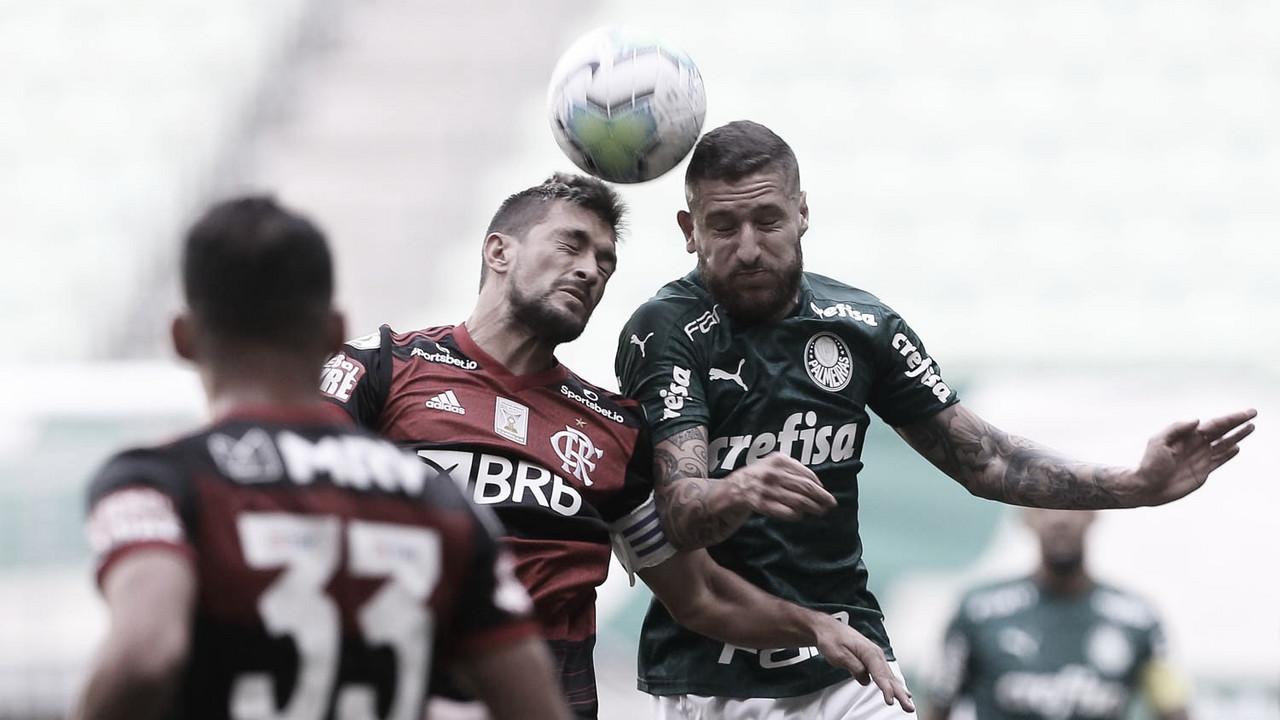Revitalizado Flamengo faz confronto direto com embalado Palmeiras em Brasília