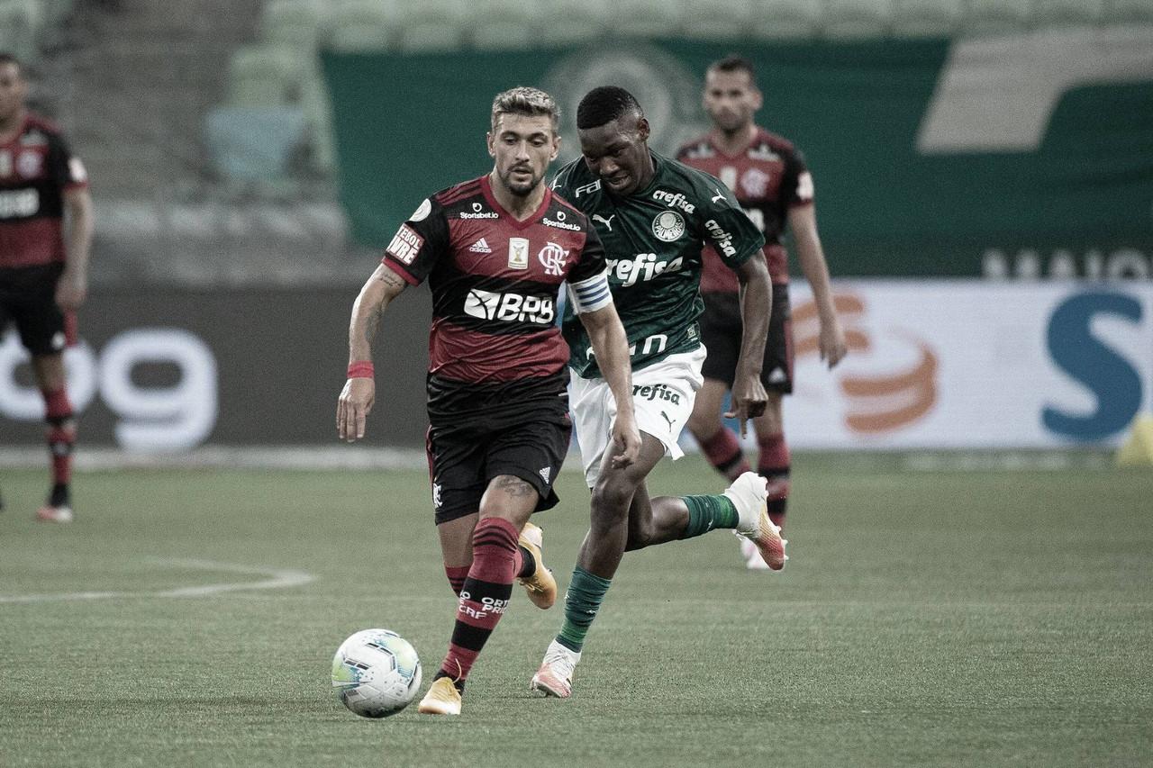 Flamengo x Palmeiras AO VIVO: onde assistir ao jogo em tempo real pelo Campeonato Brasileiro