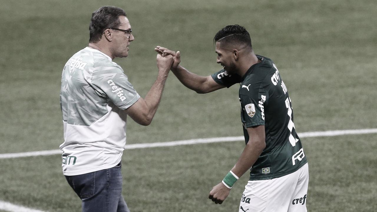 Luxemburgo fala em paciência e comemora primeiro gol de Rony no Palmeiras
