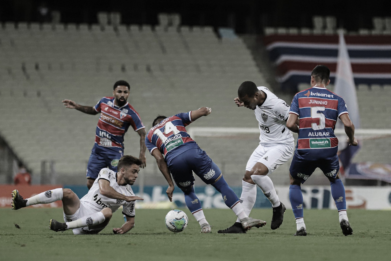 Duelo de opostos: Atlético-MG e Fortaleza fazem jogo para continuar sonhando